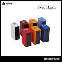 Wholesale Original Joyetech Evic - Joyetech eVic Basic TC Mod with Max 60W Output &1500mAh Battery Capacity Best Match with Cubis Pro Mini Atomizer 100% Original