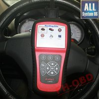 Wholesale Transmission Scan Tools - Wholesale-Autel MaxiDiag Elite MD802 MD 802 Scan Tool For All System+DS model+Engine+Transmission+ABS Airbag+EPB+OIL Service Reset