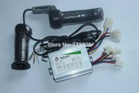 Wholesale Electric Bicycle Motor Controller - Wholesale-800W 36V electric bicycle scooter motor brush controller throttle twist grip controlador de escobillas del motor