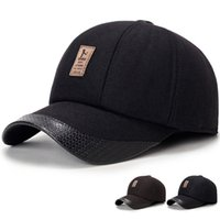 Wholesale Golf Ball Specials - Winter Hats men Baseball cap Elastic Outdoor Sport adults hat special logo caps with earflaps hat Casquette cotton golf Logo
