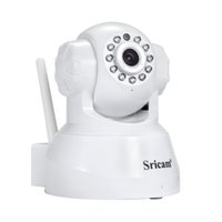 Wholesale Surveillance Camera Pan - Sricam IP Camera WIFI 720P Home Security Surveillance System Onvif P2P Phone Remote 1.0MP Wireless Video Surveillance Camera
