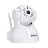 Sricam IP Cámara WIFI 720P Sistema de Vigilancia de Seguridad en Casa Onvif P2P Teléfono Remoto 1.0MP Wireless Video Surveillance Camera