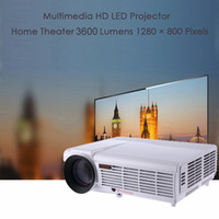 Mini LED Portable Wifi Projecteur LCD Full HD Home Cinema Theater LED-96 TV Android Beamer Red-Blue 3D HDMI AV USB pour KTV Game Entertainment