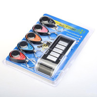 Wholesale Mobile Cell Phone Alarm - KEY FINDER 5 in 1 Remote Wireless Key Wallet Finder Receiver Lost Thing Alarm Locator Track mobile phone wallet anti lost alarm