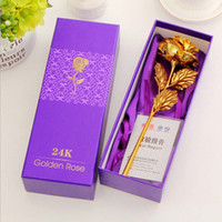 Wholesale 24k gold carnations gold rose ideas and practical Mother s Day Valentine s Day gift