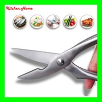 Wholesale stainless steel fishing knives - Multifunction Stainless Steel Kitchen Scissor For Cut Fish Chicken Bone Poultry Practical Innerspring Scissors Kitchen Knives