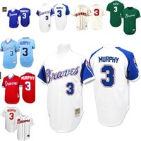 new styles fe70a 2670c atlanta braves 3 dale murphy mesh batting practice blue ...