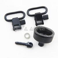 Wholesale Detachable Sling Swivels - Quick Detachable Remington 870 Cap Set Sling Swivels Mounting Kit 12G