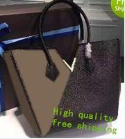 Wholesale Large Kimono - Fashion Women Quality Genuine Leather Handbags shoulder kimono bag handbag Women Tote Bags large tote purses