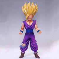 Wholesale Banpresto Figure - Brand New Official Banpresto Master Stars Piece Dragon Ball Z, The Son Gohan Super Saiyan Anime Toys Figure Free Shipping