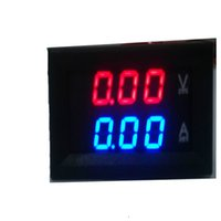 Wholesale inch meters resale online - DC Dual Ammeter Volt Meter Inch Lcd Display Digital Meter Battery Testers for Cars Electric Vechiles GNEA048