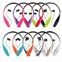 Wholesale lg tone bluetooth for sale – best HBS HBS900 Headphone Bluetooth Headset for iPhone Samsung LG Tone Sports Stereo Bluetooth Wireless HBS Cell Phone Earphones set