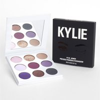 Wholesale Wet Satin - In Stock Kylie Jenner VACATION EDITITHE TAKE ME ON THE WET SET SKINNY DIP BURGUNDY The Purple Palette Kyshadow Eyeshadow Makeup Eye Shadow