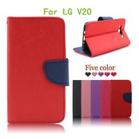 Wholesale X5 Green - For LG X5 For LG V20 Flip PU leather luxury pouch high quality wallet cover case with stand