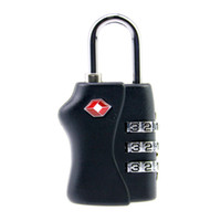 Lock black combination lock - TSA Resettable Combination Safe Black Color Travel Luggage Digit Suitcase Code Lock