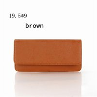 Wholesale Colorful Wallets For Women - Fashion Designer Womens Wallets PU Colorful Stylish Ladies Purse Bag Plain Wallets with Multi Colors for Women wallet-703