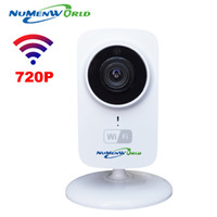 Wholesale Security Camera Sd Card Wireless - HD Mini Wifi IP Camera Wireless 720P TF SD Card P2P Baby Monitor Network CCTV Security Camera Home Protection Mobile Remote Cam