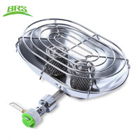Wholesale Outdoors Heaters - BRS Professional Outdoor Stoves Warmer Heater Heating Stove with Double Burners for Outdoor Camping Fishing Hiking +NB