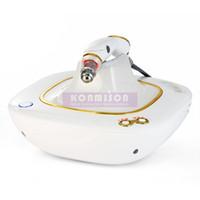 masajeador de vibración infrarroja al por mayor-El uso portátil en el hogar RF Eye Massager para círculos oscuros elimina la vibración del infrarrojo lejano para el removedor de bolsas de ojos