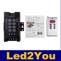 Wholesale rgb smd led module resale online - rgb led controller Key DC V V A W W RF remote Controller LED strip for SMD RGB LED Strip Led Modules
