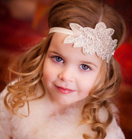 Wholesale Crystal Flower Heads - Brilliant Headbands with Crystal Rhinestone Beading Pageant Plated Flower Girls' Tiaras Girl's Head Piece Headband for Wedding
