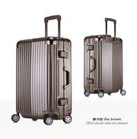 ingrosso borse vacanza-All'ingrosso-Nuovo caldo marchio di alta qualità di rotolamento bagagli bagagli valigia bagaglio da viaggio bagagli sul tetto portano su viaggio vacanza borsa commerciale