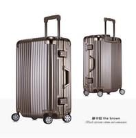 carro de viagens venda por atacado-Atacado-New Hot marca de alta qualidade bagagem de rolamento mala de viagem do carro bagagem bagageiro transportar no saco de viagem de férias comercial