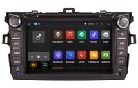 Android 5.1 Car DVD Player GPS de Navegação para a Toyota Corolla 2006-2011 com a Rádio BT DVR USB Audio Video Stereo WIFI 1024 * 600