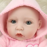 Wholesale Silicone Mini Love Dolls - 10 Inch Full Body Silicone Baby Dolls Mini Reborn Dolls Babies Child Like Love Dolls For Sale