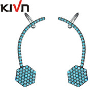 Wholesale Stylish Jewelry For Women - KIVN Fashion Jewelry Stylish CZ Ear Cuff Ear Crawler Climber Earrings for Women Mothers Day Birthday Christmas Gifts