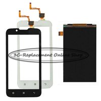 Wholesale order digitizer touch screen resale online - New White Black For Lenovo A328 A328T A338 A338T Monitor LCD Display Digitizer Touch Screen Order Tracking