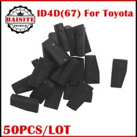 Wholesale Duplicable Transponder - Free Shipping 50pcs lot 4D67 Auto Transponder Key for Toyota Camry Corolla 4D (67) 4D67 Duplicable Transponder Chip 32XXX for toyota