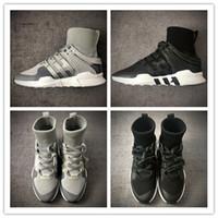 Wholesale Womens Hiking Socks Black - EQT Equipment ADV High Ankle Boost Sock Primeknit Zebra White Black running shoes for Womens Mens eqt shoes for sale size 36-44