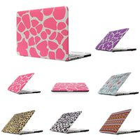 Wholesale laptops 11.6 for sale - Leopard Texture Color Hard PC Case For Macbook Air Pro Retina Laptop Case Netbook Front Back Cover