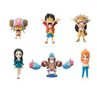 170618 QIUCHANY Anime MegaHouse Dimensione di un pezzo PVC 7CM 96 Generation Six Corso One Piece WCF di Iron The Stars Eye