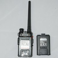 comunicador Conjunto portátil BaoFeng UV-5R 8W UV-8HX Dual Band VHF / UHF portátil Two Way CB Walkie Talkie Ham Radio Communicator + estojo