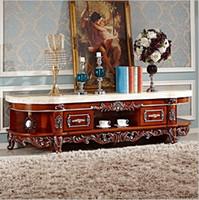 antike massivholzmöbel großhandel-große heiße verkaufende neue ankunft Antike Hohe Wohnzimmer solide holzmöbel lcd TV Stand pfy3001