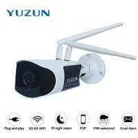 Wholesale Waterproof 3g Security Camera - 960P 1080P 3g 4g IP66 waterproof Wireless cctv security outdoor bullet camera AP WiFi hotspot night vision p2p ip monitor camera
