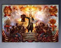 Wholesale Bioshock Figure - Bioshock posters painting prints on canvas free shipment