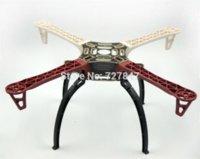 Wholesale Dji Kit - F450 Quadcopter MultiCopter Frame kit W  Black Tall Landing Gear Skid for DJI F450 F550 SK480 FPV