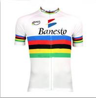 jersey de bicicleta uci al por mayor-Banesto UCI para hombre Ropa Ciclismo Ropa de ciclismo / MTB Ropa de bicicleta / Ropa de bicicleta / 2019 uniformes de ciclismo 2XS-6XL D1