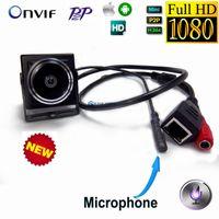 Wholesale Miniature Lenses - 2Mp 1080P Ip Camera Hd Audio 1.78mm Fisheye Lens 180 Degree Mini Ip Cam Covert Network Onvif P2P Miniature Ip Camera Wide Angle