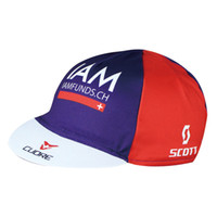 Wholesale Scott Cycling Cap - new 2016 iam scott professional Team Cycling Bike Head Cap Hat Quick Drying is suing Wear men and women Cycling Hat Cycling caps