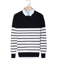 Wholesale Brand Clothing Mens Sweaters And Pullovers Autumn Winter Men Sweaters Cotton Sweater Men Plus Size Hot Sales SY044 AA