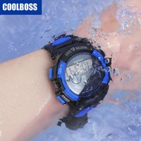 наручные часы купить оптовых-Дети часы люксовый бренд мужские часы спортивные часы сенсорный светодиодные часы водонепроницаемый электронные часы Хэллоуин рождественские подарки Оптовая продажа 187