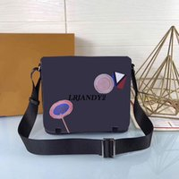 Wholesale Office For Men - New 3 Styles Genuine Leather Bags Crossbody Messenger Bag Leather Office Bags for Men Document Briefcase Travel Bags