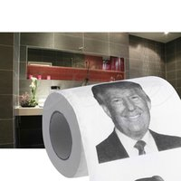 Wholesale Novelty Sheets - Wholesale- Donald Trump Smile 3ply 150 Sheets Toilet Paper Roll Novelty Funny Gag Gift