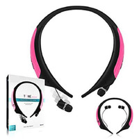 Wholesale Headphones Tone Control - New HBS-850 bluetooth CSR4.0 headphones Wireless Headset Tone Ultra Bluetooth Stereo Earphone voice control 4.0 without logo With Retail Box