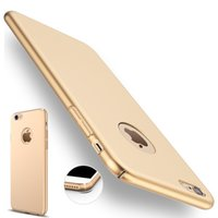 Caso para iphone7 Luxury Silm friegue la cubierta para el iphone 7 más 5.5 Caso superior plástico para la cubierta del caso del iphone 7 de Apple