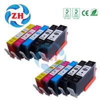 Wholesale Photosmart Cartridge - 10 PCS Ink Cartridges 564XL Compatible For HP564 HP 564 564XL hp Photosmart 5510 5511 5512 5514 5515 5520 5522  5525 6510 printer